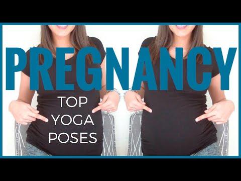 TOP PRENATAL YOGA POSES FOR PREGNANCY