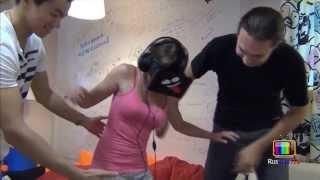 Реакция людей на Oculus Rift (виртуальная реальность)