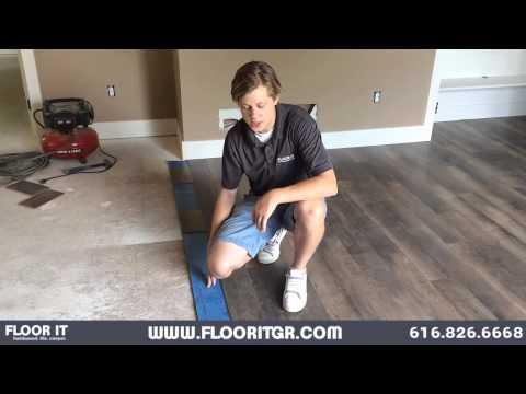 DIY Laminate Floating Floor Installation