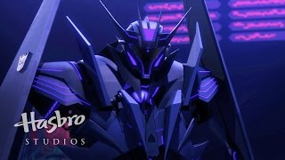 Transformers: Prime - Black Airachnid Vs. Shockwave