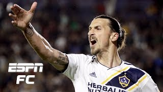 Best of Zlatan Ibrahimovic with LA Galaxy | ESPN FC