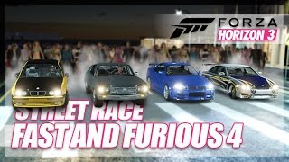 Forza Horizon 3 - Fast and Furious 4 Recreation! (Build & Street Race)