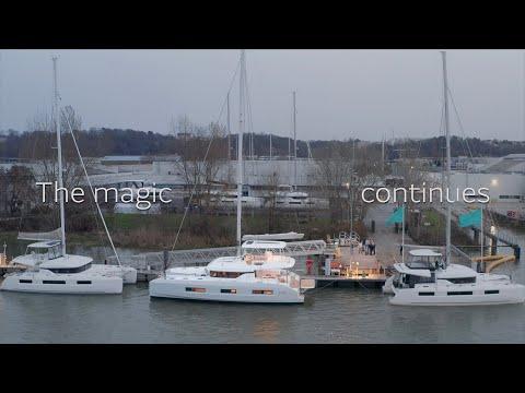 Lagoon 55 video
