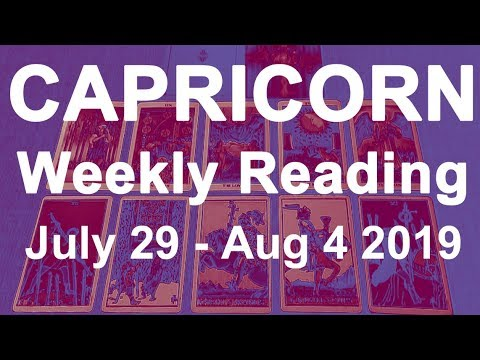 CAPRICORN WEEKLY TAROT 'A FINAL DECISION COULD BE LIFE-CHANGING' May
