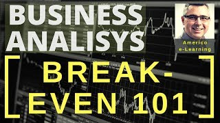 Break-even 101 - Calculate break-even for buy or make decision and process selection in Supply Chain