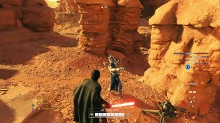 Star Wars Battlefront 2: Galactic Assault Gameplay (No Commentary)