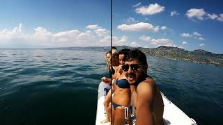 preview picture of video 'Boat Ride In Lac Léman (Lake Geneva), Switzerland GoPro'