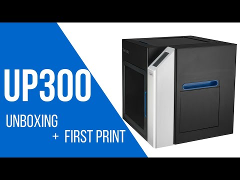 Printer TierTime UP300: Instalare si printare initiala