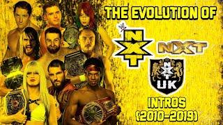 Evolution Of NXT Intros (2010 2019).