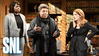 Movie Set With Jessica Chastain - SNL