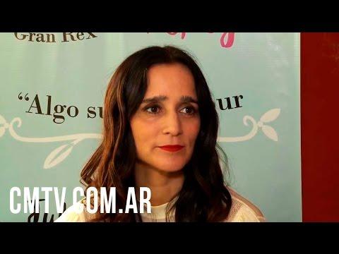 Julieta Venegas video Cada show es una conquista - Entrevista Argentina | Septiembre 2016