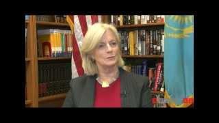 Элизабет Гиллард в интервью агентству BNews.kz