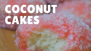 MINI COCONUT CAKES