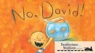 No David By David Shannon -  No David Books For Kids Read Aloud!