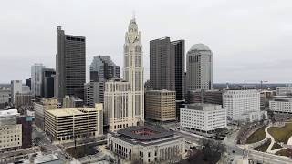 Columbus Ohio DJI MAVIC PRO 2 drone footage