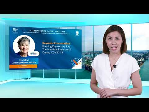 International Safety@Sea Webinar Series Day 2 Plenary 1 (Full Video)