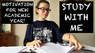 CHILLED STUDY WITH ME | CAMBRIDGE STUDENT DAY IN MY LIFE AT HOME (GET MOTIVATED!)
