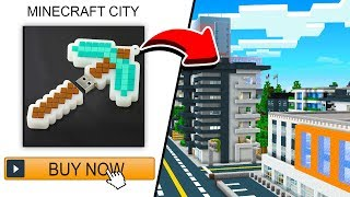 Buying A Minecraft CITY From AMAZON!