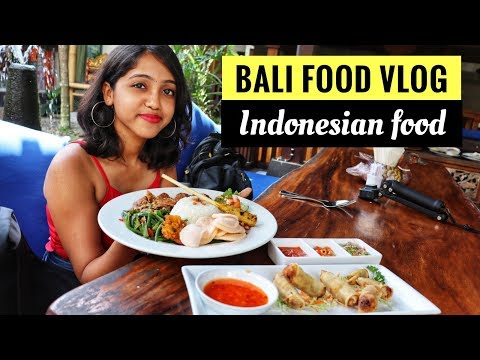 What to eat in Bali | Bali Food Vlog | Indonesian Street food | Anagha Mirgal