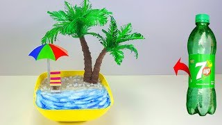 Awesome Handmade Beach With Plastic Bottle // Crafts With Plastic Bottle
