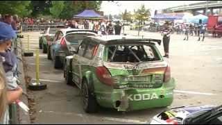 preview picture of video 'Barum Rally Zlin 2012'