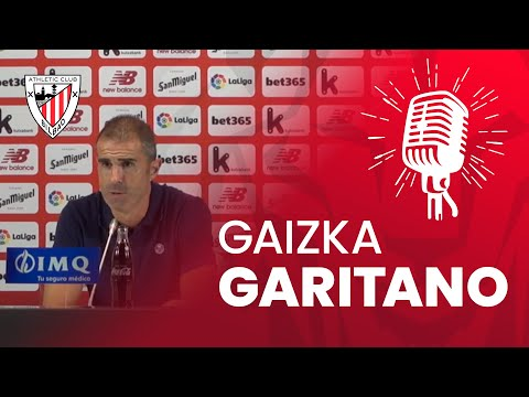 🎙 Gaizka Garitano | Athletic Club 2 – 0 Real Sociedad | post-match