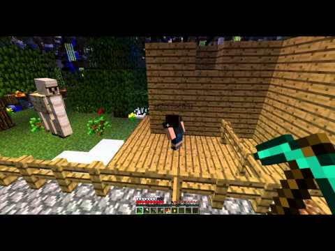 Бред в Minecraft №1 [battle elektroozz vs golem]