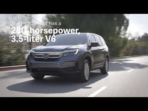 2020 Honda Pilot vs 2020 Subaru Ascent