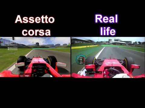 F1 2018 | BOTTAS POLE LAP SOCHI - REAL vs ASSETTO CORSA