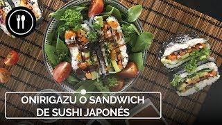 Cómo hacer onigirazu, el sandwich de sushi japonés