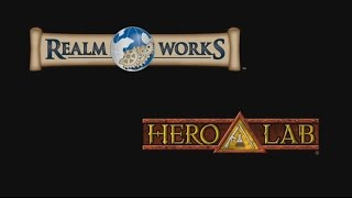 Realm Works and Hero Labs - GM Tour