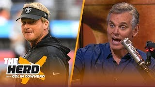 Colin Cowherd analyzes the effects of Jon Gruden's Raiders on the rest of football | NFL | THE HERD