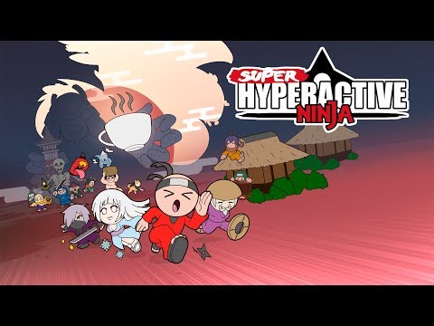 Super Hyperactive Ninja - Launch Trailer thumbnail
