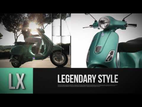 Vespa LX & S 3V Official Video