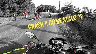 MOTOVLOG #28 - NEHODA / Triumph CRASH / Sanitka / Co se STALO ?!?
