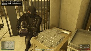 GTA Online Casino Heist: Stealing Diamonds $3,619,000 | Silent & Sneaky (Elite & Hard Mode)