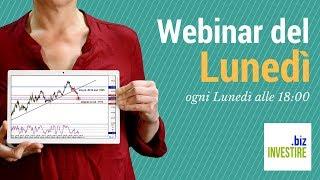 Webinar del Lunedì - Tra Criptovalute, Facebook e Forex