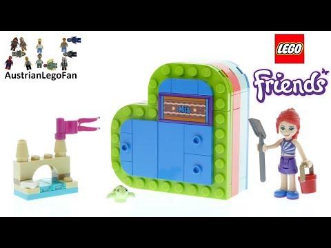 Vidéo LEGO Friends 41388 : La boîte cœur d'été de Mia