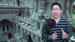 10 thứ đồ vật SIÊU VIỆT được lắp ghép bằng LEGO với kích thước KHỔNG LỒ