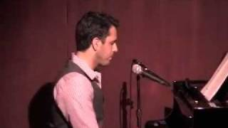 'Kiss the Air' - Sung by Scott Alan on June 15th, 2009 @ Birdland