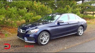 Here's the 2015 Mercedes-Benz C400 on Everyman Driver