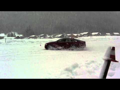 Jaguar XJ AWD snow test Allrad Schnee-Test - Autogefühl