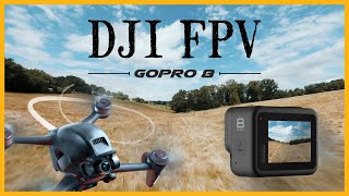 DJI FPV + Gopro 8 + Reelsteady Go