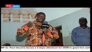 Chirau Ali Mwakwere ditched by running mate Simon Mkalla  for Dr Dr. Issa Chipera