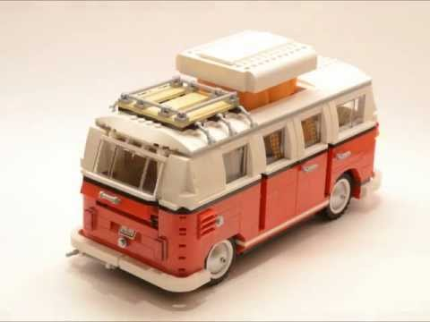 lego volkswagen t1 camper van leganerd. Black Bedroom Furniture Sets. Home Design Ideas