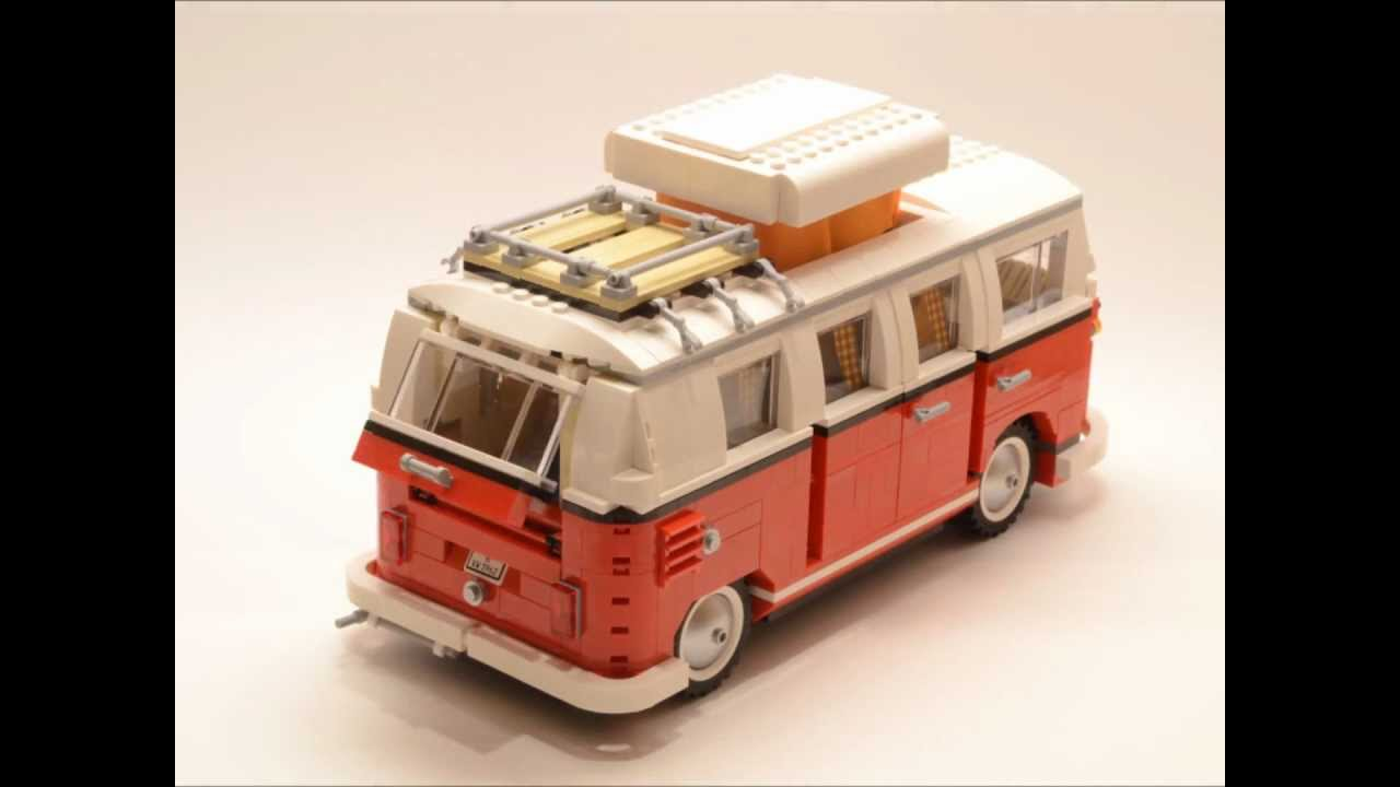 Time-Lapse Video Made Me Buy Lego Volkswagen T1 Camper Van