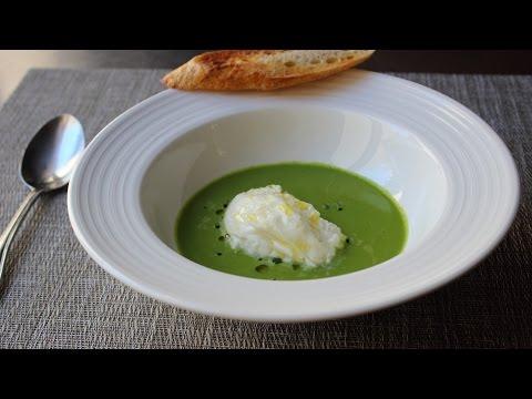 Gazpacho Verde with Burrata Cheese – How to Make Green Gazpacho Soup