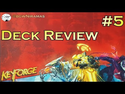 KeyForge: Deck unboxing and Analysis #5