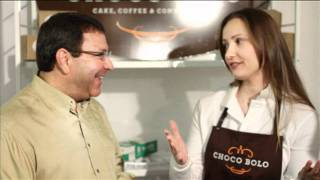 Eat More Chocolate ChocoBolo Elegant Desserts NY Chocolate Show