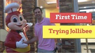 First Time Jollibee in CALIFORNIA!! Filipino American Couple VLOG#8 Jake&Jess